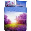 Complete Sheet Set Bassetti Imagine Purple Summer
