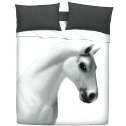 Completo Letto Copriletto Bassetti Imagine Gardone Cavallo