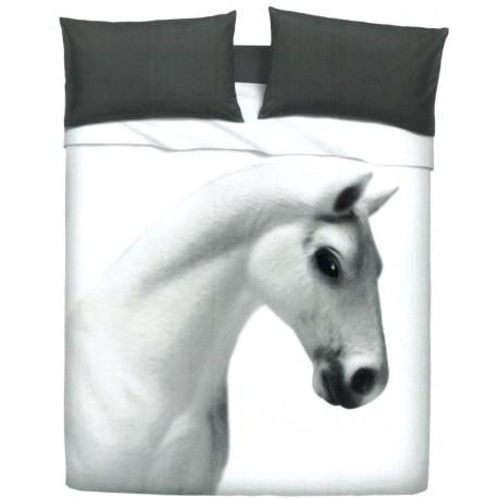 Bedcover Sheet Set Bassetti Imagine Gardone Cavallo