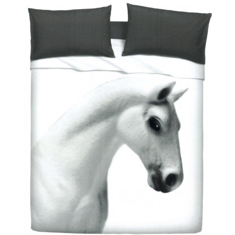 Parure De Drap Couvre-Lit Bassetti Imagine Gardone Cavallo