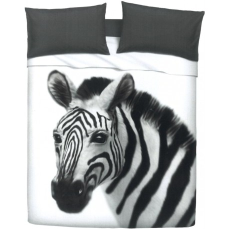 Bedcover Sheet Set Bassetti Imagine Gardone Zebra