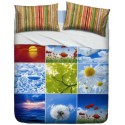 Complete Sheet Set Bassetti La Natura Beautiful Nature