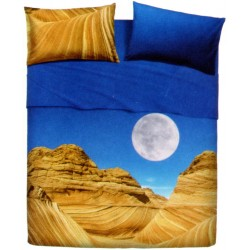 Parure De Drap Couvre-Lit La Natura Bassetti Desert Mountain V1