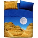 Complete Sheet Set Bassetti La Natura Desert Mountain