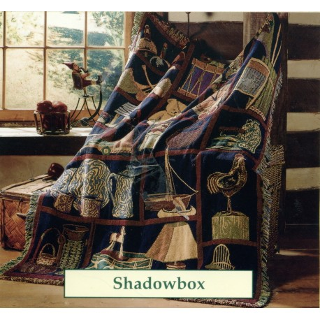 Throw Bassetti Shadowbox