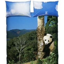 Duvet Cover Set Bassetti La Natura Panda