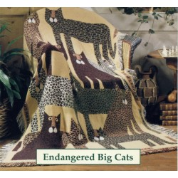 Throw Bassetti Endangered Big Cats