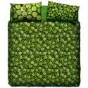 Duvet Cover Set Bassetti La Natura Green Apple