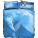 Duvet Cover Set Bassetti La Natura Windsurf