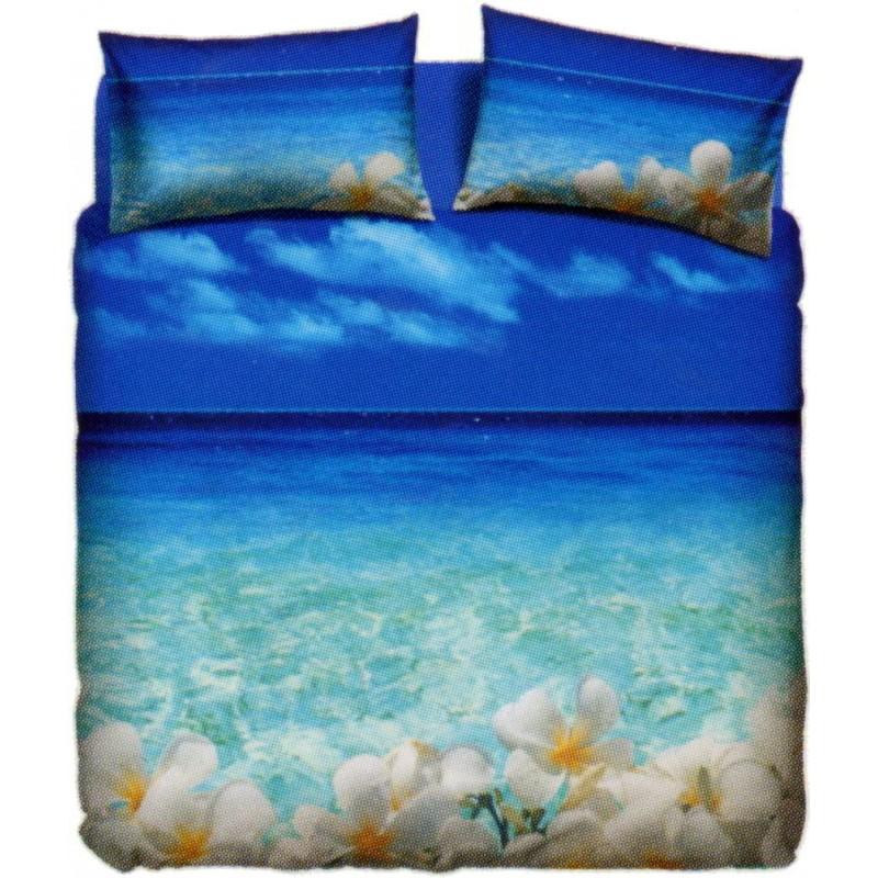 Copripiumino Natura.La Natura Bassetti Tahiti Twin Size Bedcover Sheet Set