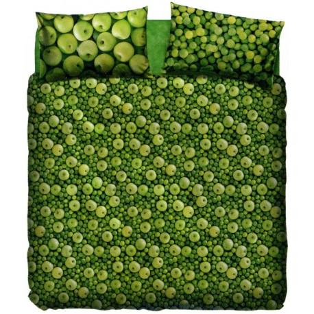 Parure De Draps Couvre-Lit La Natura Bassetti Mela Verde V1