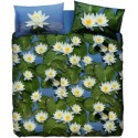 Complete Duvet Cover Set Bassetti La Natura Water Lily