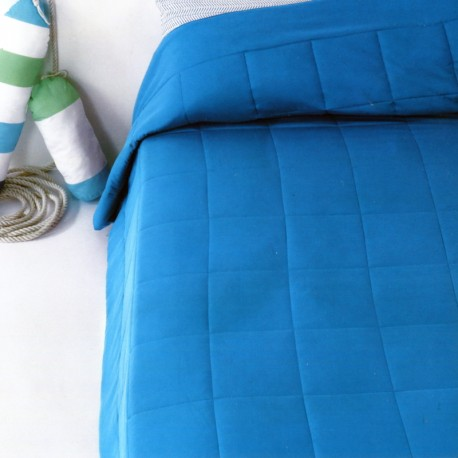 Quilted Bedspread Bassetti Time Microfiber
