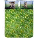 Duvet Cover Set Bassetti La Natura German Shepherd