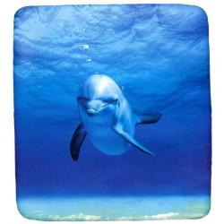 Fitted Sheet La Natura Bassetti Momenti Di Tenerezza Blu Blu V1