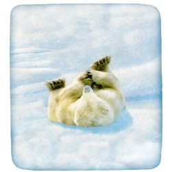 Fitted Sheet Bassetti La Natura Lovely Teddy Polar Bear