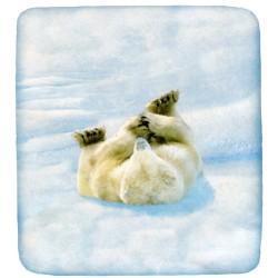 Lenzuolo Da Sotto Bassetti La Natura Lovely Teddy Con Angoli Orso Polare