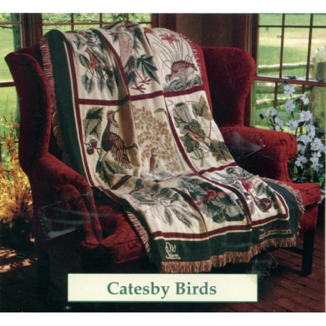 Throw Bassetti Catesby Birds
