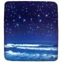 Fitted Sheet Bassetti La Natura Rain Of Stars