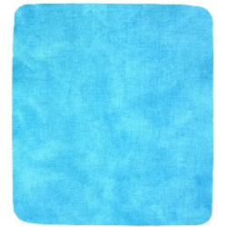 Fitted Sheet Bassetti La Natura Azure Theme Of False Solid Color With Perfetto Releaseable Elastic Corners