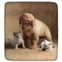 Fitted Sheet Bassetti La Natura Cuddles Pups