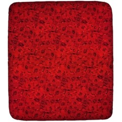Fitted Sheet Bassetti La Natura Fiori E Colori Red Roses With Perfetto Releaseable Elastic Corners