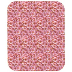 Fitted Sheet Bassetti La Natura Fiori E Colori Pink Flowers With Perfetto Releaseable Elastic Corners