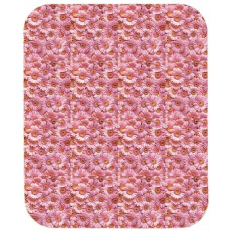 Fitted Sheet La Natura Bassetti Fiori E Colori Pink Flowers Perfetto V1