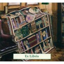 Throw Bassetti Ex Libris Bookshelf Cabinet