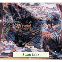 Throw Bassetti Swan Lake