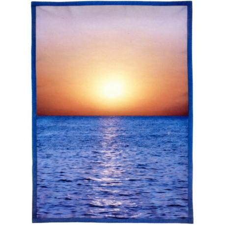Plaid Bassetti La Natura Reflets V1
