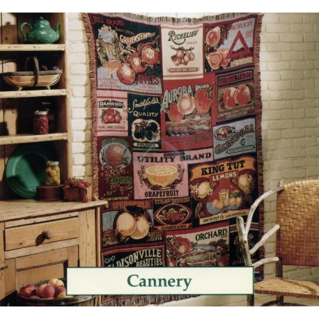 Throw Bassetti Cannery