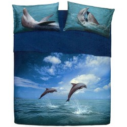 Complete Sheet Set Bassetti Pictures Dancing Dolphin