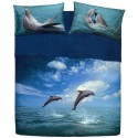 Complete Sheet Set Bassetti Extra Special Edition Dancing Dolphin