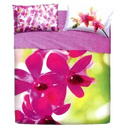 Complete Parure De Draps Bassetti Extra Special Edition Pink Fall