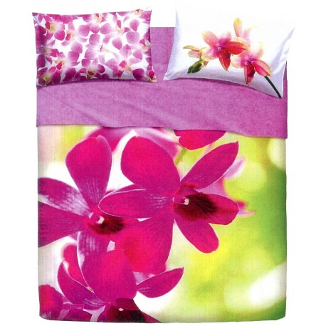 Complete Sheet Set Bassetti Pictures Pink Fall