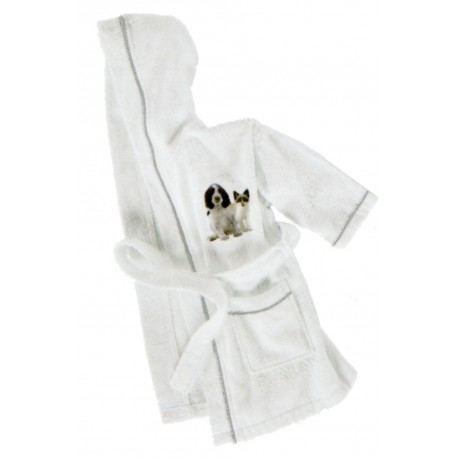 Bathrobe Bassetti La Natura One Two A Baby Ti Proteggo