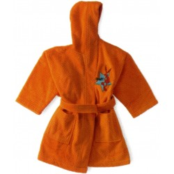 Bathrobe Embroidered Bugs Bunny Bassetti Kids My Star Bunny V1