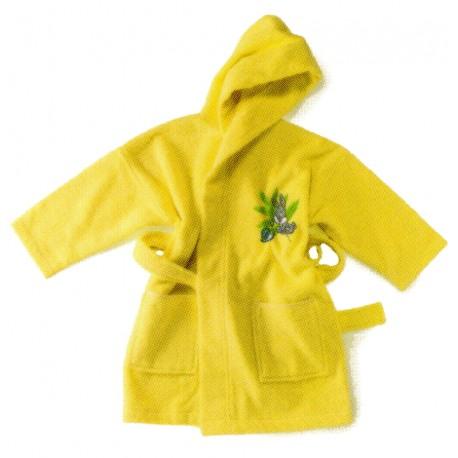 Bathrobe Embroidered Bugs Bunny Bassetti Kids Nature Fantasy V1