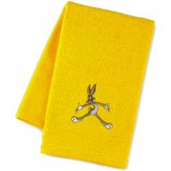 Serviette Bassetti Kids Up You Go Brodée Bugs Bunny
