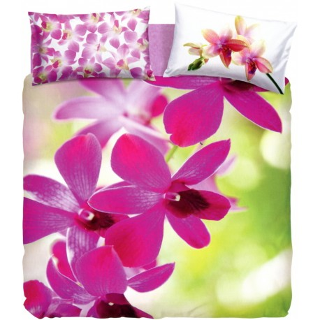 Duvet Cover Set Bassetti Extra Special Edition Pink Fall