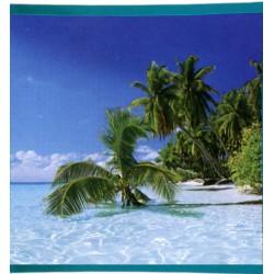 Foulard Di Arredo Bassetti La Natura Guadalupa Caraibi