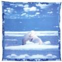 Foulard De Décoration Bassetti La Natura Polar Ours Polaires