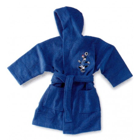 Bathrobe Bassetti Kids Soccer Team Embroidered Sylvester The Cat