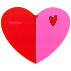 Plaid Bassetti Love Therapy Funny Heart