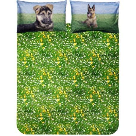 Complete Duvet Cover Set Bassetti La Natura German Shepherd