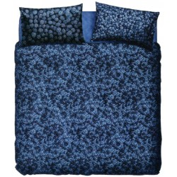 Complete Duvet Cover Set Bassetti La Natura Blueberry With Perfetto