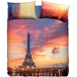 Complete Duvet Cover Set Bassetti Imagine Paris Forever