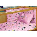 Quilted Bumpers Bassetti Angel Baby Looney Tunes