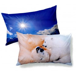 Pillowcase Bassetti Imagine Bears In The Snow